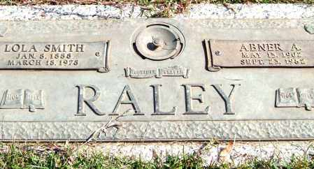 RALEY, ABNER A. - Saline County, Arkansas | ABNER A. RALEY - Arkansas Gravestone Photos