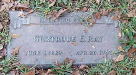 RAY, GERTRUDE E. - Saline County, Arkansas   GERTRUDE E. RAY - Arkansas Gravestone Photos