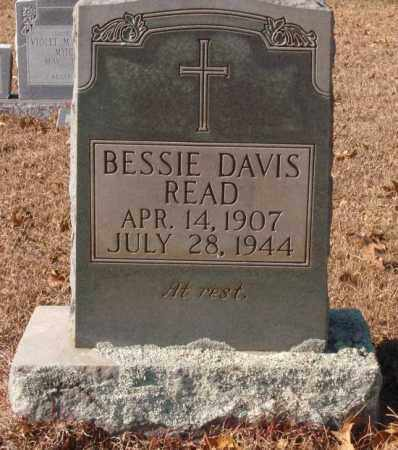 DAVIS READ, BESSIE - Saline County, Arkansas | BESSIE DAVIS READ - Arkansas Gravestone Photos