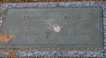 REED, FRANCES J. - Saline County, Arkansas | FRANCES J. REED - Arkansas Gravestone Photos