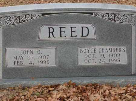 CHAMBERS REED, BOYCE - Saline County, Arkansas | BOYCE CHAMBERS REED - Arkansas Gravestone Photos