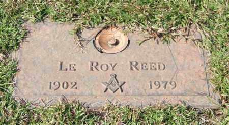 REED, LE ROY - Saline County, Arkansas   LE ROY REED - Arkansas Gravestone Photos