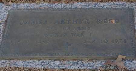 REED (VETERAN WWI), JAMES ARTHUR - Saline County, Arkansas | JAMES ARTHUR REED (VETERAN WWI) - Arkansas Gravestone Photos