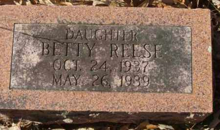 REESE, BETTY - Saline County, Arkansas | BETTY REESE - Arkansas Gravestone Photos