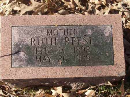 REESE, RUTH - Saline County, Arkansas | RUTH REESE - Arkansas Gravestone Photos