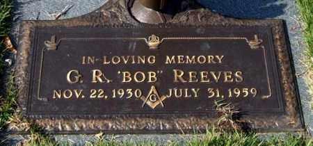 "REEVES, G. R. ""BOB"" - Saline County, Arkansas | G. R. ""BOB"" REEVES - Arkansas Gravestone Photos"