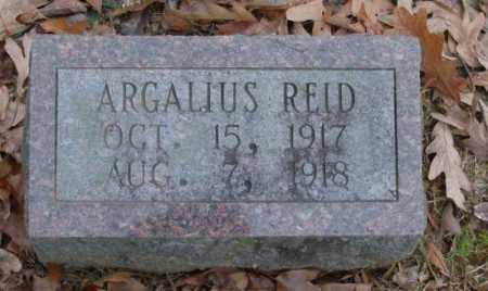 REID, ARGALIUS - Saline County, Arkansas | ARGALIUS REID - Arkansas Gravestone Photos