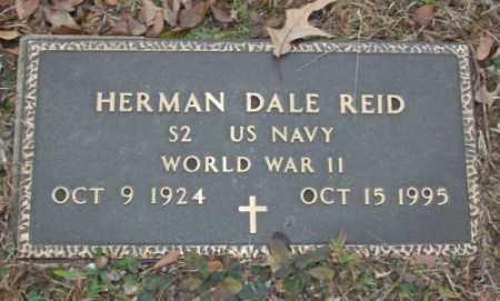 REID (VETERAN WWII), HERMAN DALE - Saline County, Arkansas | HERMAN DALE REID (VETERAN WWII) - Arkansas Gravestone Photos