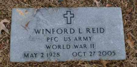 REID (VETERAN WWII), WINFORD L. - Saline County, Arkansas | WINFORD L. REID (VETERAN WWII) - Arkansas Gravestone Photos