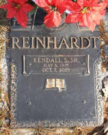 REINHARDT SR., KENDALL S. - Saline County, Arkansas | KENDALL S. REINHARDT SR. - Arkansas Gravestone Photos