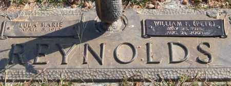 REYNOLDS, WILLIAM FRANK - Saline County, Arkansas   WILLIAM FRANK REYNOLDS - Arkansas Gravestone Photos