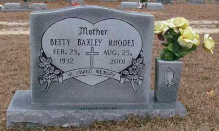 RHODES, BETTY - Saline County, Arkansas | BETTY RHODES - Arkansas Gravestone Photos