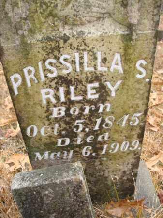 RILEY, PRISSILLA S - Saline County, Arkansas | PRISSILLA S RILEY - Arkansas Gravestone Photos