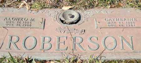 ROBERSON, ALONZO M. - Saline County, Arkansas | ALONZO M. ROBERSON - Arkansas Gravestone Photos