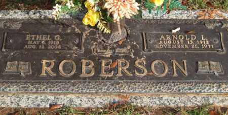 ROBERSON, ETHEL G. - Saline County, Arkansas | ETHEL G. ROBERSON - Arkansas Gravestone Photos