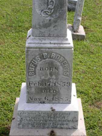 ROBERTS, RUFUS PERRY - Saline County, Arkansas   RUFUS PERRY ROBERTS - Arkansas Gravestone Photos
