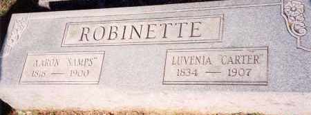 ROBINETTE, LUVENIA - Saline County, Arkansas | LUVENIA ROBINETTE - Arkansas Gravestone Photos