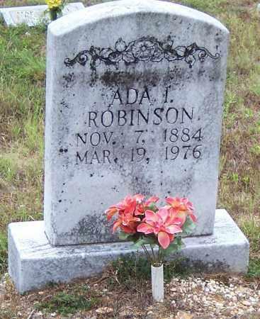 ROBINSON, ADA I. - Saline County, Arkansas   ADA I. ROBINSON - Arkansas Gravestone Photos