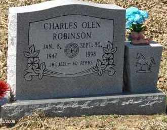 ROBINSON, CHARLES OLEN - Saline County, Arkansas | CHARLES OLEN ROBINSON - Arkansas Gravestone Photos