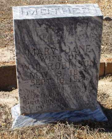 WRAY ROBINSON, MARY JANE - Saline County, Arkansas | MARY JANE WRAY ROBINSON - Arkansas Gravestone Photos