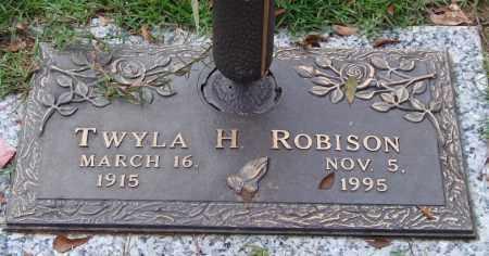 ROBISON, TWYLA H. - Saline County, Arkansas | TWYLA H. ROBISON - Arkansas Gravestone Photos