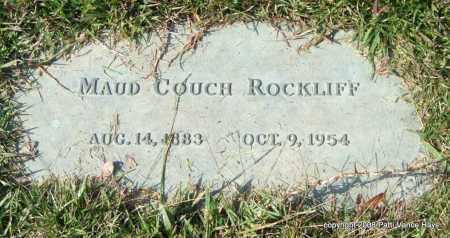 COUCH ROCKLIFF, MAUD - Saline County, Arkansas | MAUD COUCH ROCKLIFF - Arkansas Gravestone Photos