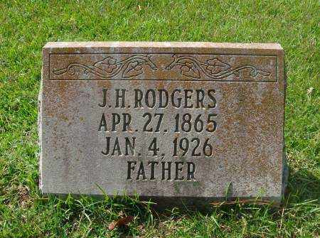 RODGERS, J H - Saline County, Arkansas   J H RODGERS - Arkansas Gravestone Photos