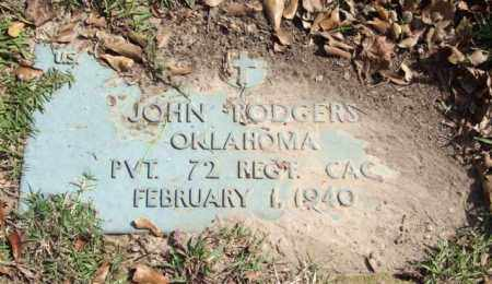 RODGERS (VETERAN), JOHN - Saline County, Arkansas   JOHN RODGERS (VETERAN) - Arkansas Gravestone Photos