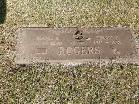 ROGERS, EDWARD H. - Saline County, Arkansas | EDWARD H. ROGERS - Arkansas Gravestone Photos