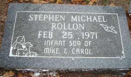 ROLLON, STEPHEN MICHAEL - Saline County, Arkansas   STEPHEN MICHAEL ROLLON - Arkansas Gravestone Photos