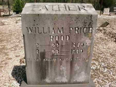 ROOD, WILLIAM PRICE - Saline County, Arkansas | WILLIAM PRICE ROOD - Arkansas Gravestone Photos