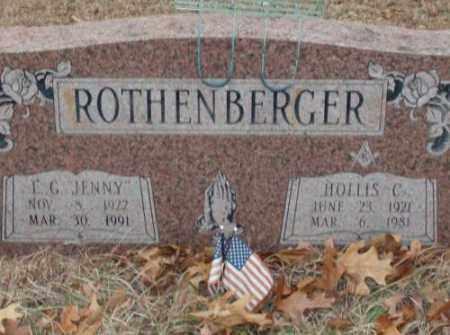 ROTHENBERGER, HOLLIS C. - Saline County, Arkansas   HOLLIS C. ROTHENBERGER - Arkansas Gravestone Photos