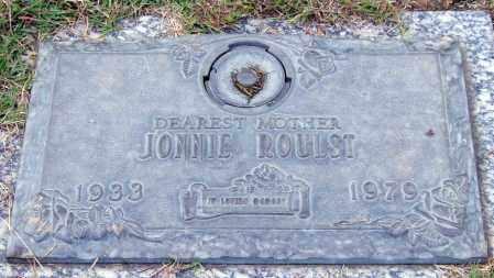 ROULST, JONNIE - Saline County, Arkansas | JONNIE ROULST - Arkansas Gravestone Photos