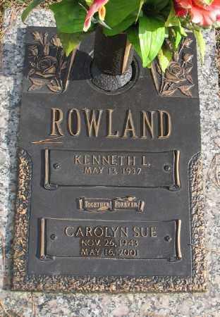 ROWLAND, CAROLYN SUE - Saline County, Arkansas | CAROLYN SUE ROWLAND - Arkansas Gravestone Photos