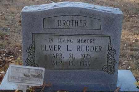RUDDER, ELMER L - Saline County, Arkansas | ELMER L RUDDER - Arkansas Gravestone Photos