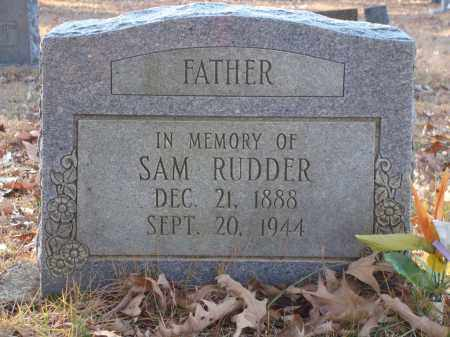 RUDDER, SAM - Saline County, Arkansas | SAM RUDDER - Arkansas Gravestone Photos
