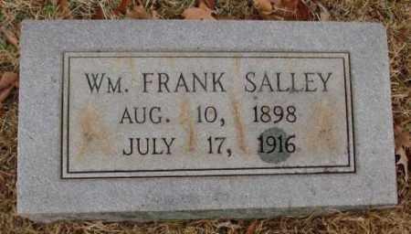 SALLEY, WM. FRANK - Saline County, Arkansas | WM. FRANK SALLEY - Arkansas Gravestone Photos