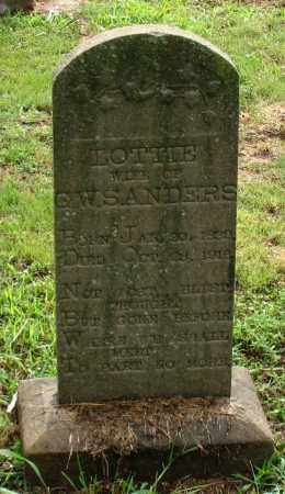 "PHILLIPS SANDERS, CHARLOTA R. ""LOTTIE"" - Saline County, Arkansas   CHARLOTA R. ""LOTTIE"" PHILLIPS SANDERS - Arkansas Gravestone Photos"