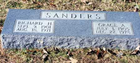 HENRY SANDERS, GRACE A. - Saline County, Arkansas   GRACE A. HENRY SANDERS - Arkansas Gravestone Photos
