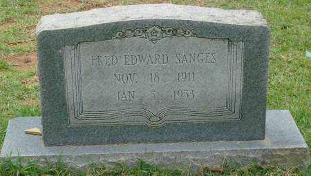 SANGES, FRED EDWARD - Saline County, Arkansas | FRED EDWARD SANGES - Arkansas Gravestone Photos