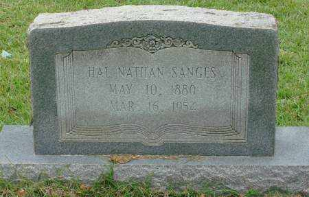 SANGES, HAL NATHAN - Saline County, Arkansas   HAL NATHAN SANGES - Arkansas Gravestone Photos
