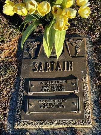 SARTAIN, DONALD EUGEE - Saline County, Arkansas | DONALD EUGEE SARTAIN - Arkansas Gravestone Photos