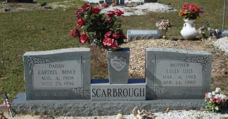 SCARBROUGH, LALLY LOIS - Saline County, Arkansas | LALLY LOIS SCARBROUGH - Arkansas Gravestone Photos