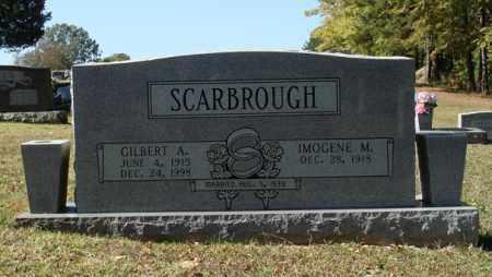 SCARBROUGH, GILBERT AUGUSTUS - Saline County, Arkansas | GILBERT AUGUSTUS SCARBROUGH - Arkansas Gravestone Photos