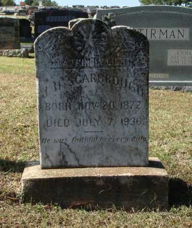 SCARBROUGH, J. H. - Saline County, Arkansas   J. H. SCARBROUGH - Arkansas Gravestone Photos