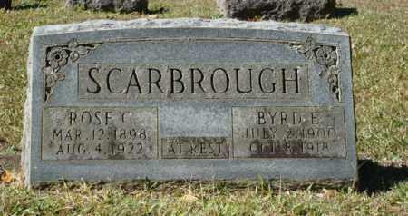 SCARBROUGH, BYRD EMILY - Saline County, Arkansas | BYRD EMILY SCARBROUGH - Arkansas Gravestone Photos