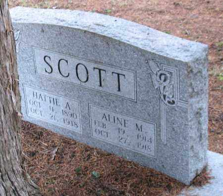 SCOTT, HATTIE A. - Saline County, Arkansas | HATTIE A. SCOTT - Arkansas Gravestone Photos