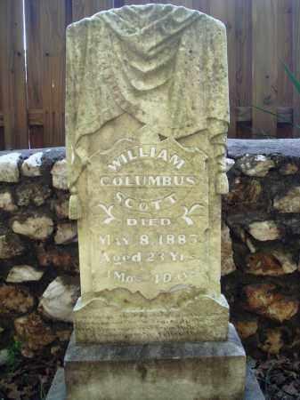SCOTT, WILLIAM COLUMBUS - Saline County, Arkansas | WILLIAM COLUMBUS SCOTT - Arkansas Gravestone Photos