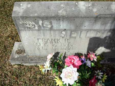 SEILER, FRANK R - Saline County, Arkansas   FRANK R SEILER - Arkansas Gravestone Photos