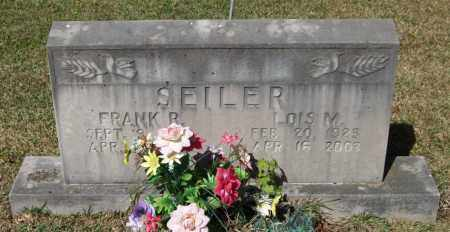 SEILER, LOIS M - Saline County, Arkansas | LOIS M SEILER - Arkansas Gravestone Photos
